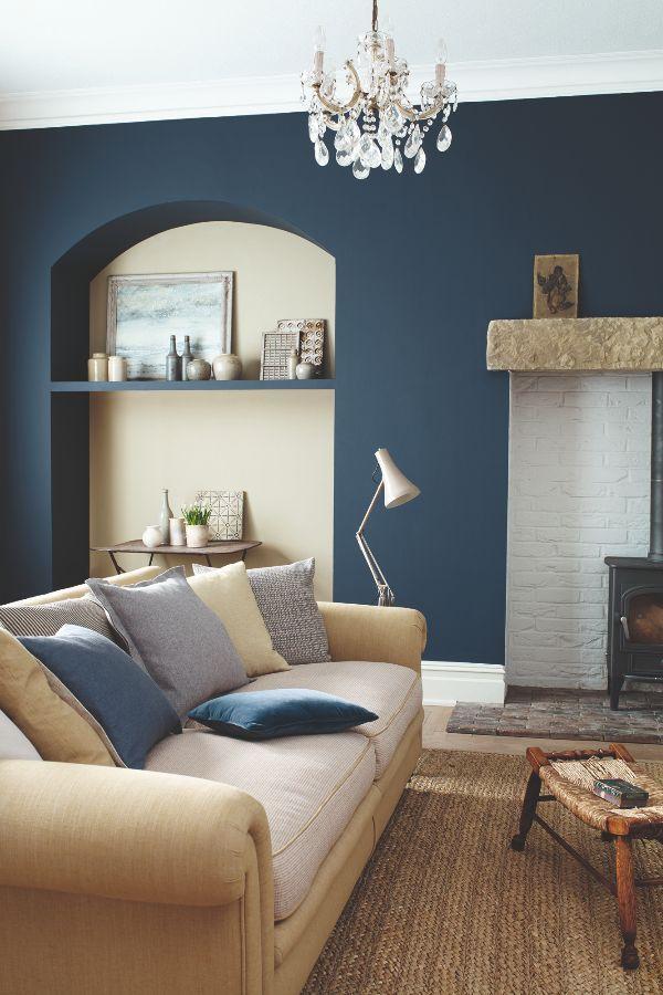 Best Sanderson Indigo Blue Water Based Eggshell 2 5 L 640 x 480