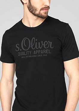 S Oliver Black Shirts Mens Tops Black Shirt Mens Tshirts