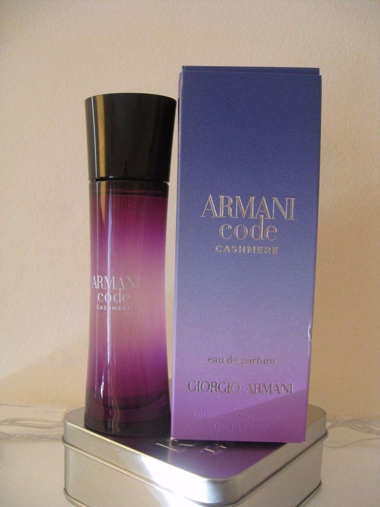 armani code cashmere 1oz 30ml new read description. Black Bedroom Furniture Sets. Home Design Ideas