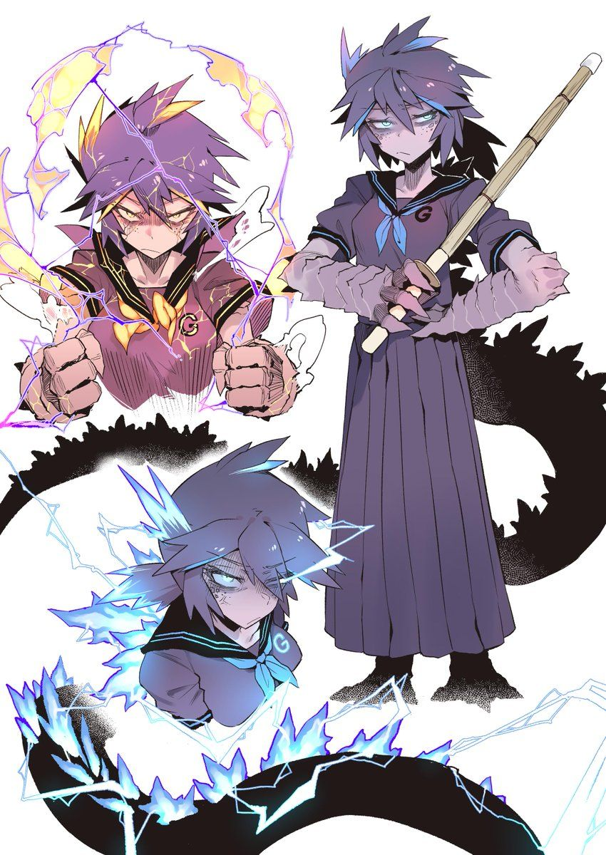 Image by Anifofani on Art style challenge Anime monsters