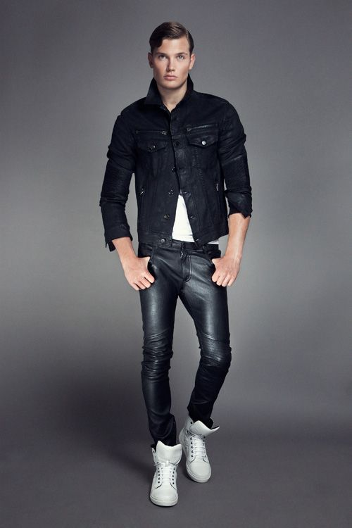 Leather Pants Looks Xy Pinterest Mens Fashion Leather Pants