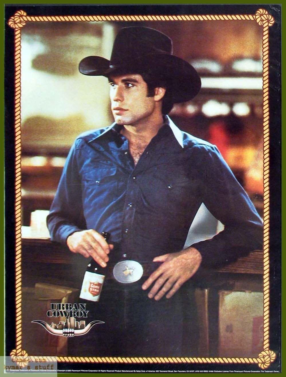 Bud Davis Urban cowboy movie, Urban cowboy, An officer