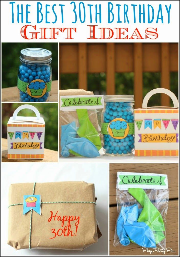 30 Of The Best 30th Birthday Gift Ideas And Fun Creative Wrapping From Playpartypin