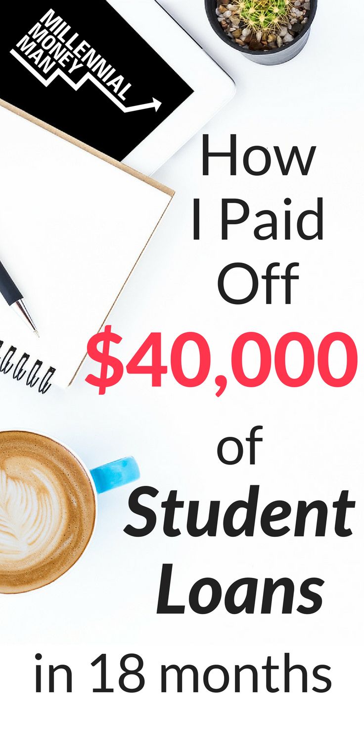 Millennial Money Man Personal Finance For Millennials Student Loan Forgiveness Paying Student Loans Loan