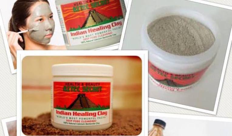 Aztec secret healing clay mask for skin indian healing