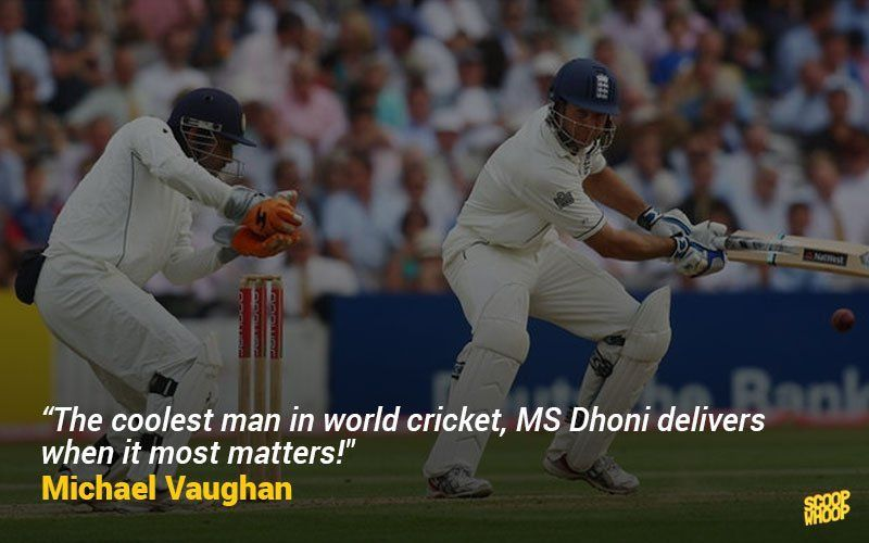 Whatta playa as Shastri would say! Dhoni quotes, Leader