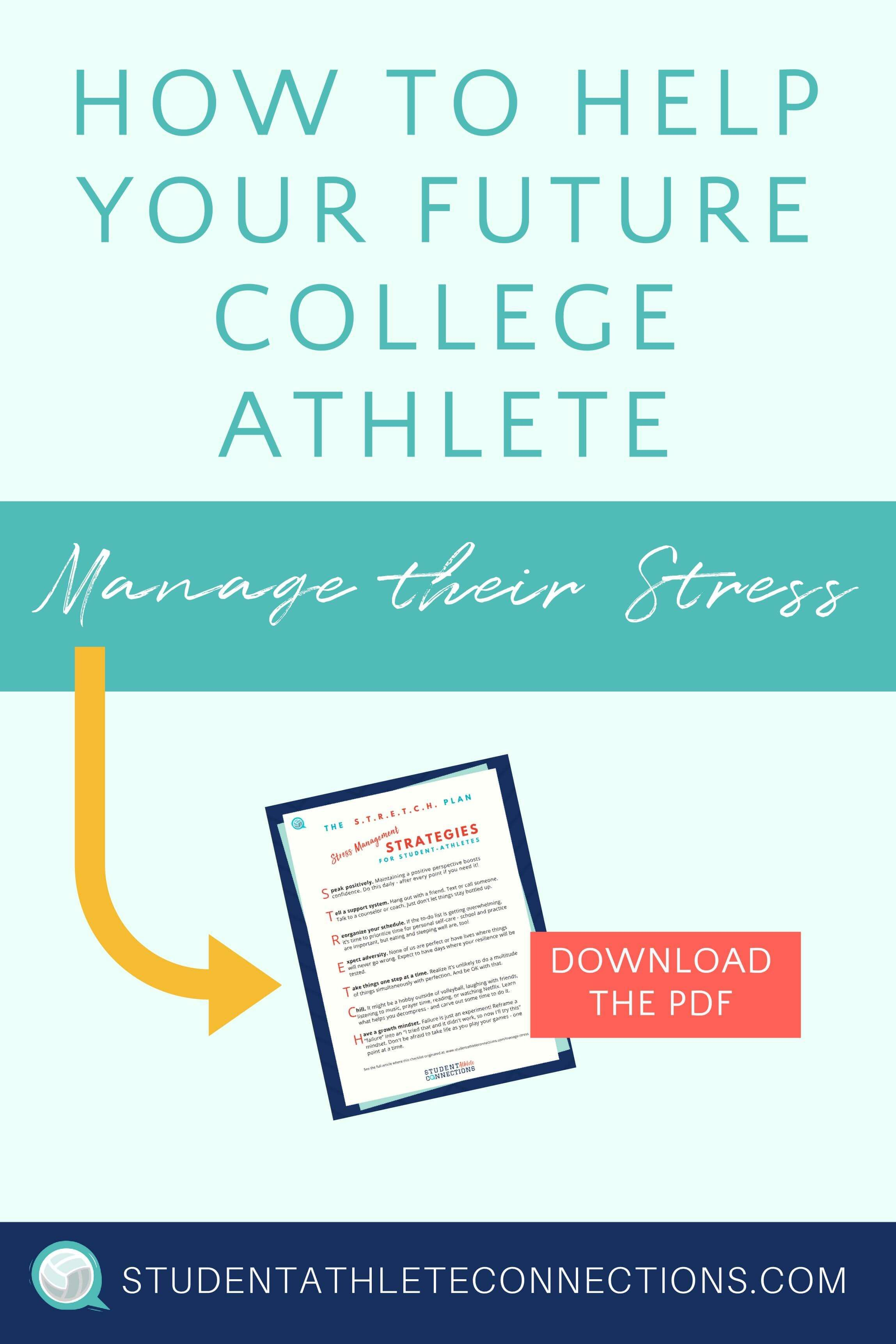 7 Things Every Student-Athlete Can Do to Manage Stress and Avoid