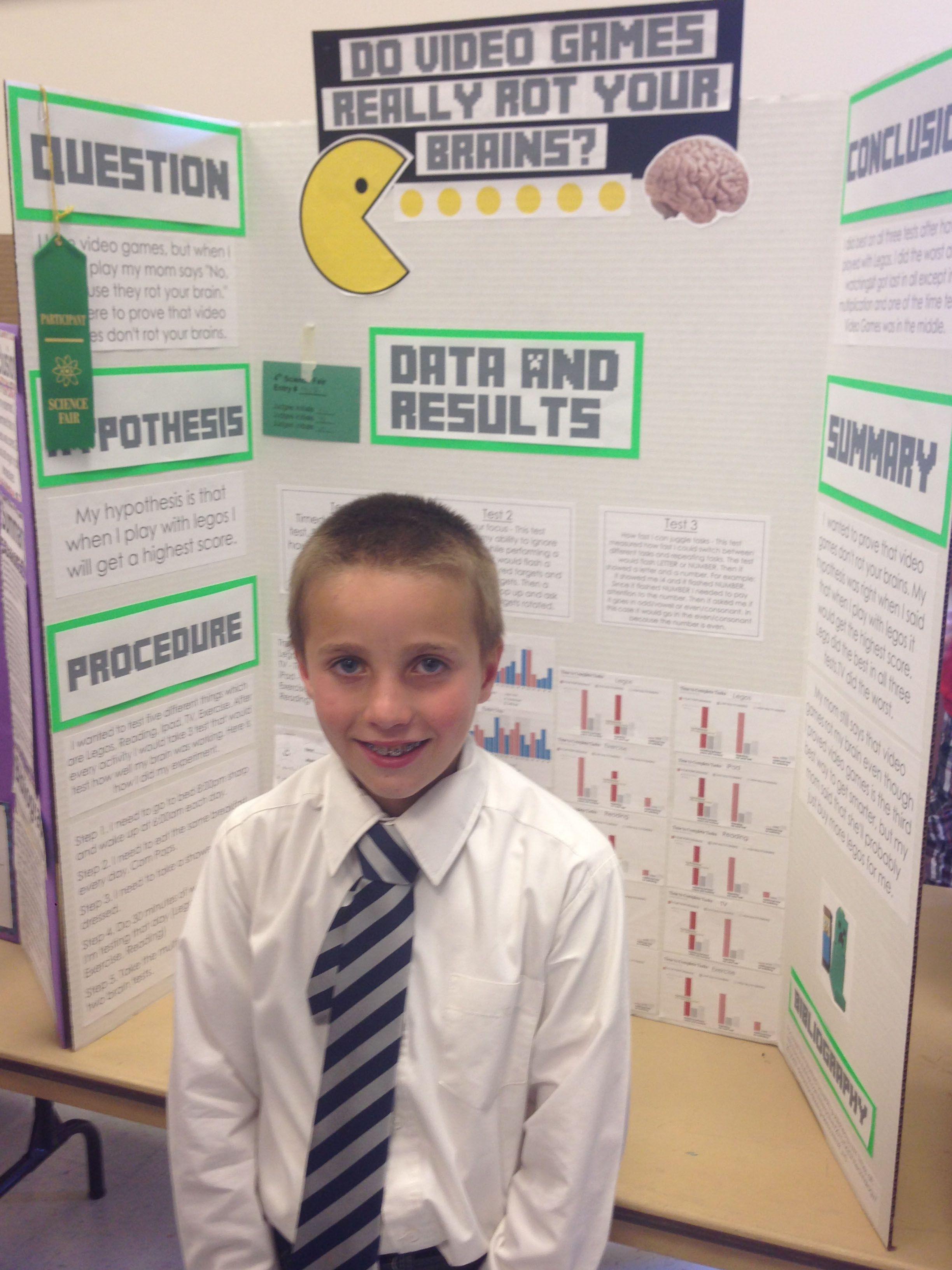 Rock Science Fair Project Owen