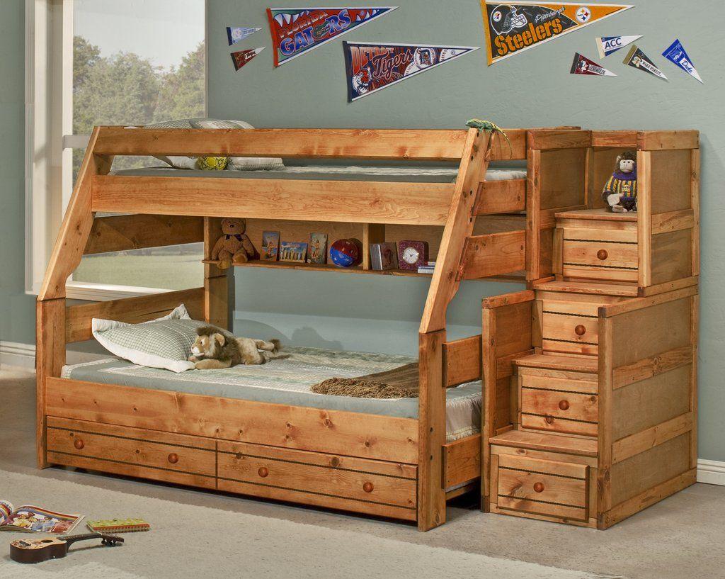 Bunkhouse Pruitt S Furniture Bunk Beds Wooden Bunk Beds Bunk