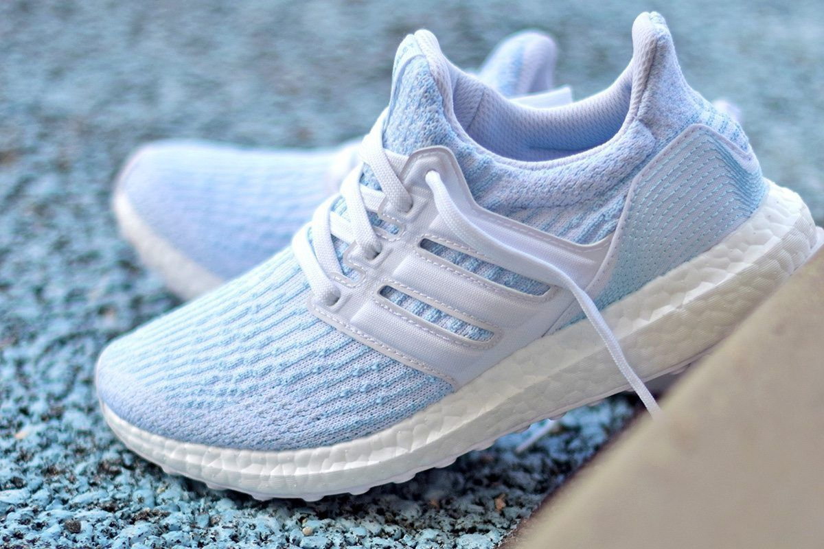 30e8ac9782ebb Parley x adidas Ultra BOOST  Ice Blue  Sneakers