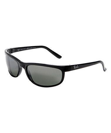 Another great find on #zulily! Black Polarized Sport Sunglasses #zulilyfinds