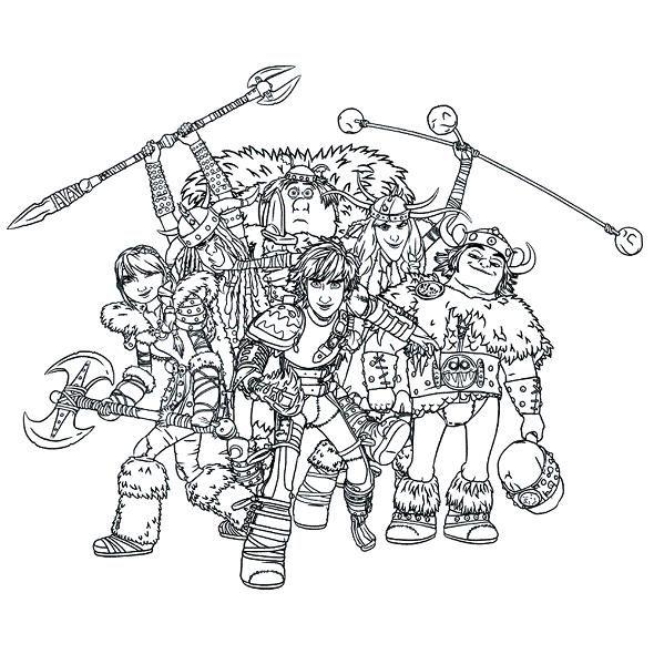 Ausmalbild Drachenzähmen Leicht Gemacht 2 Dragon Riders 2 Kinder