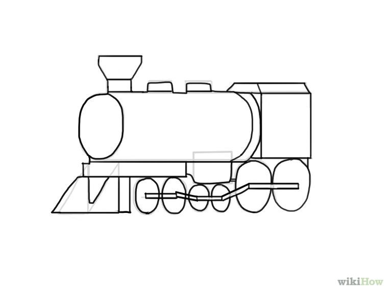How To Draw A Train Train Drawing Drawings Cute Coloring Pages