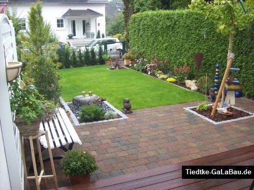 reihenhausgarten sichtschutz – flipnation, Garten seite