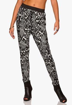 Sisters Point Coble-5 Pants Black/Crea,