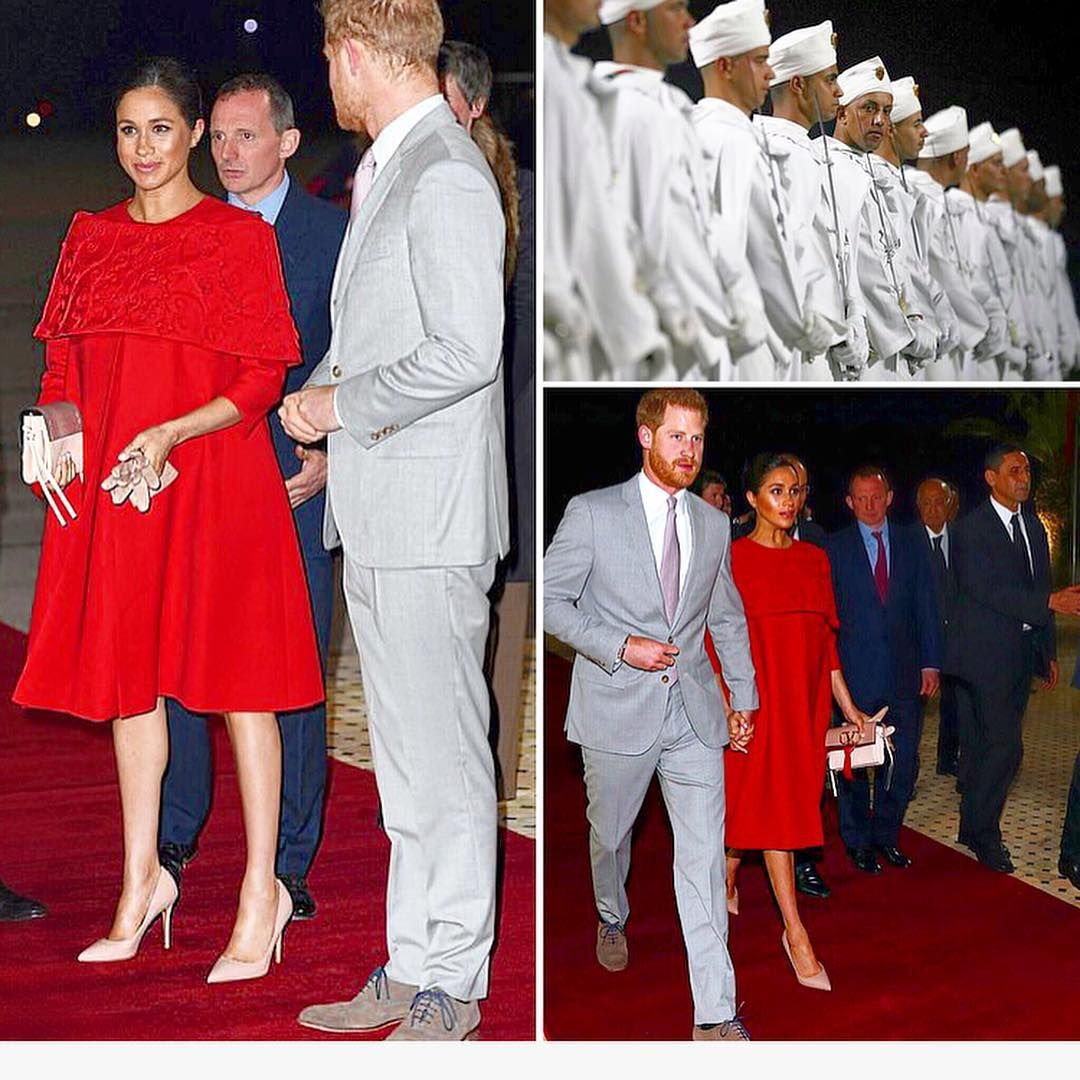 the royal windsors on instagram the duke duchess of sussex touch down in morocco prin prince harry and meghan american princess prince harry and megan the duke duchess of sussex touch down
