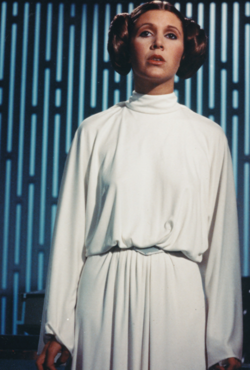 Carrie Fisher as Princess Leia in Star Wars Episode IV: A ... How Old Was Princess Leia In A New Hope