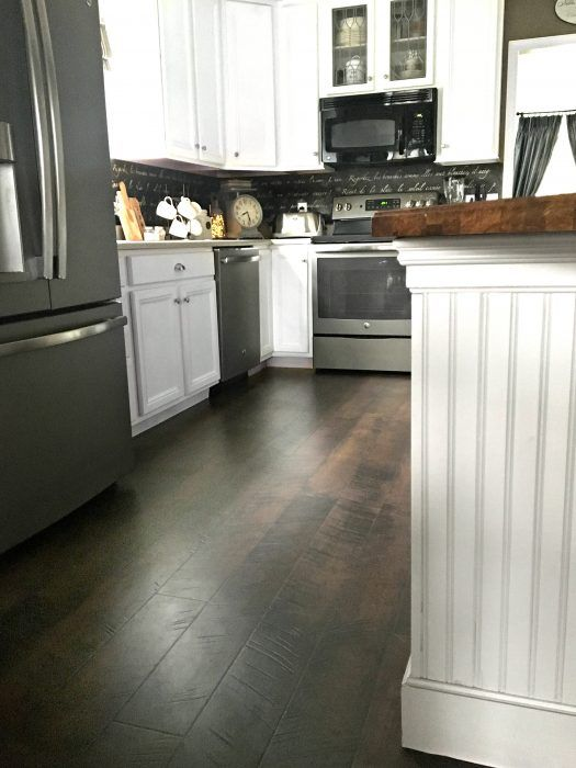 Pergo Flooring: Our Kitchen REVEAL | Kitchens, House and Room