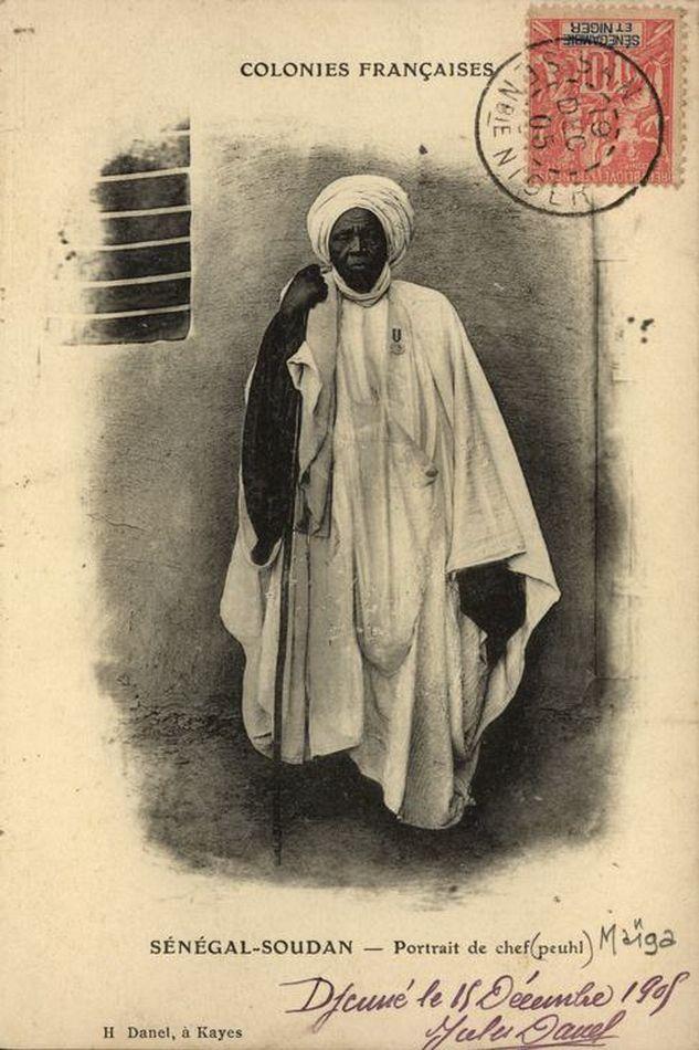 Portraits D Habitants Du Soudan Francais Cartes Postales Vintage Afrique Carte Postale