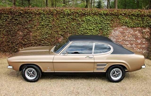 A 1973 Ford Capri 3000 Gt Xlr Ford Capri Ford Classic Cars
