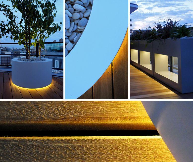 Pergola Lighting Ideas Uk: #Modern #terrace #lighting By Mylandscapes London UK