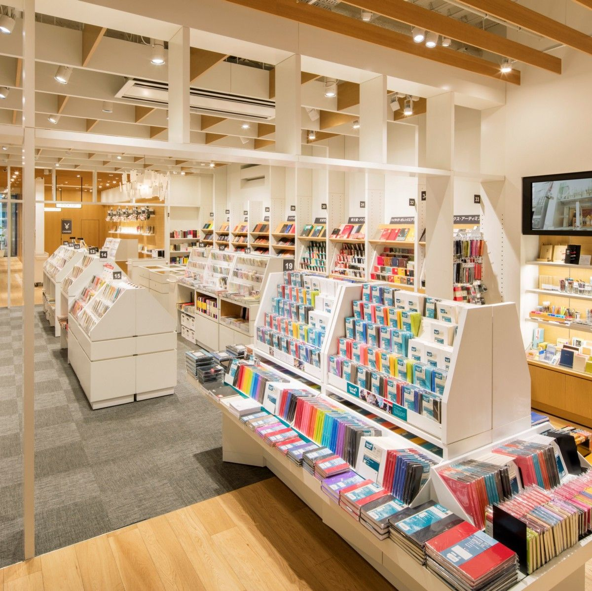 Itoya' known as one of the best stationery stores in Tokyo. Especially the  paper products, they proba… | Stationery store design, Stationary shop,  Stationery store