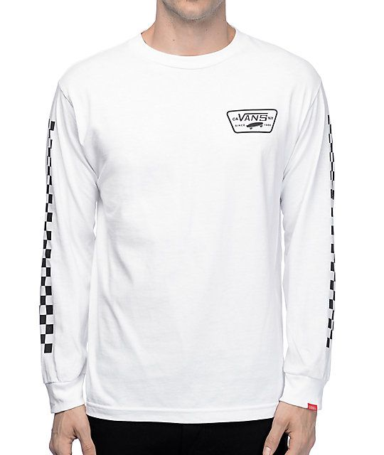 vans apparel full patch