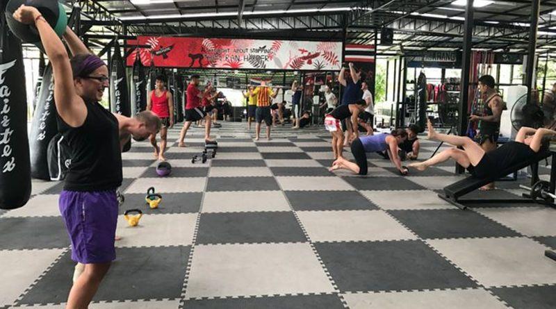 muay thai classes london