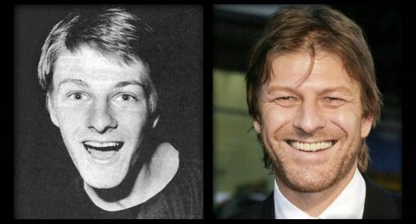 Sean Bean then and now