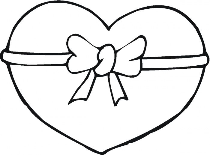 Online Heart Coloring Pages For Kids Include Numerous Varieties Of The Activity Sheets Including Human Love