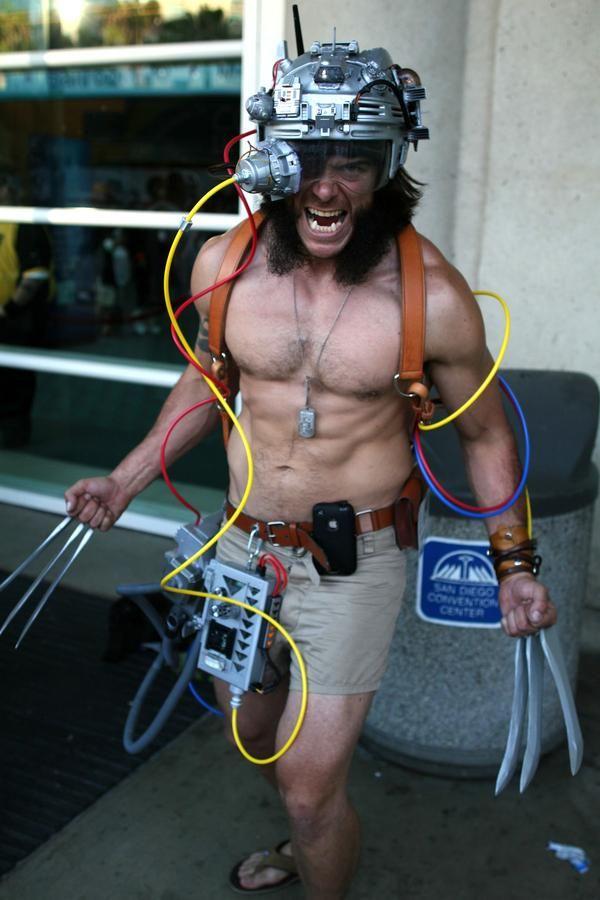 Weapon X Wolverine, San Diego Comic-Con 2011.