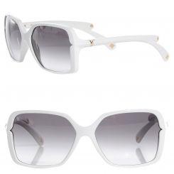 08ebc02b0ec6 LOUIS VUITTON Flore Carre Sunglasses Z0291W White