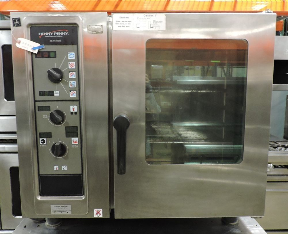 Used commercial kitchen equipment - Details About Henny Penny Mcs 6 Commercial Electric Combi Oven Half Size