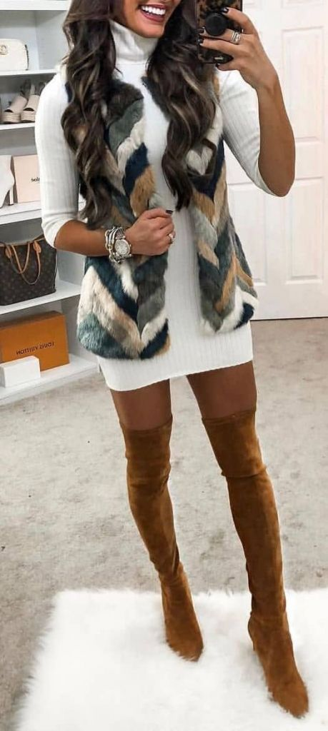 45 Cute Winter Outfits to Shop Now Vol. 3 / 17 #Winter #Outfits #winteroutfitscold