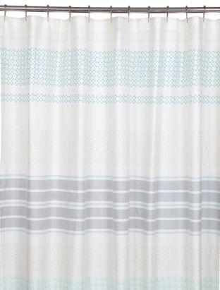 Image Of The Mataveri Turquoise Shower Curtain Bathroom Shower