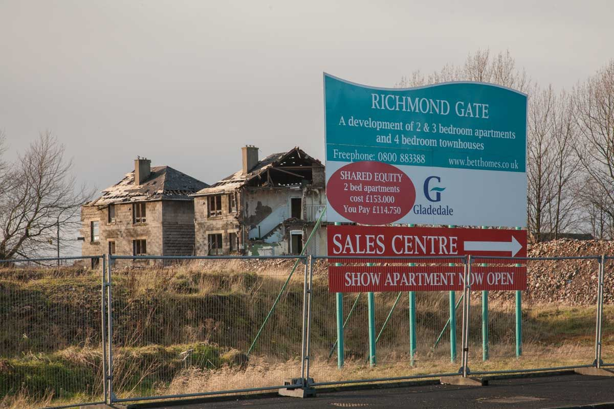 The last days of the Oatlands Estate in Glasgow