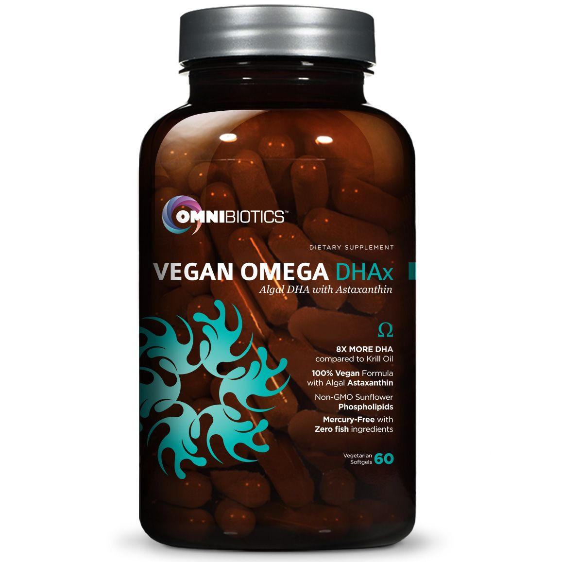 Vegan Omega Dhax 100 Vegan Omega 3 Source With 8x More Dha Than Krill Oil Mercury Free With Zero Fish Ingredients Fish Oils Supplements Dha Supplement Dha
