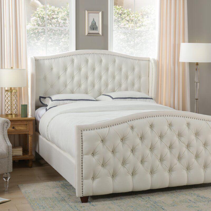 Hollington Upholstered Panel Bed In 2020 Furniture Bedroom