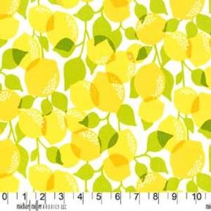 Fabric For Kitchen Curtains. Michael Miller House Designer   Citrus Grove    Citrus Tree In