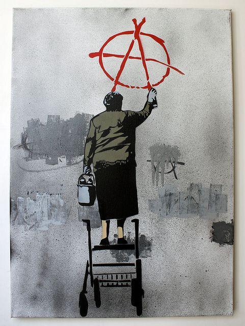 Risultati immagini per art anarchist