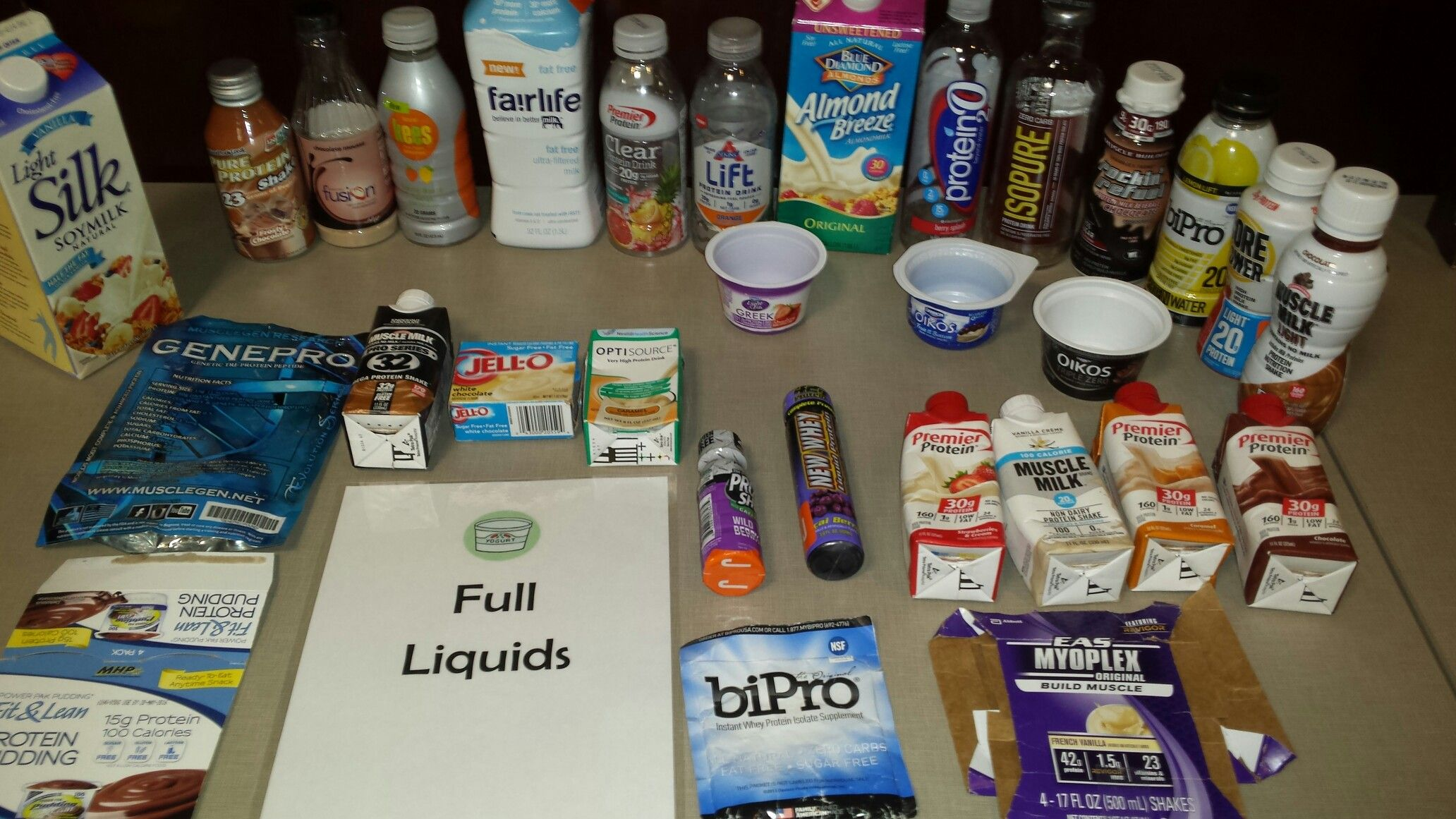 full liquid diet before bariatric surgery