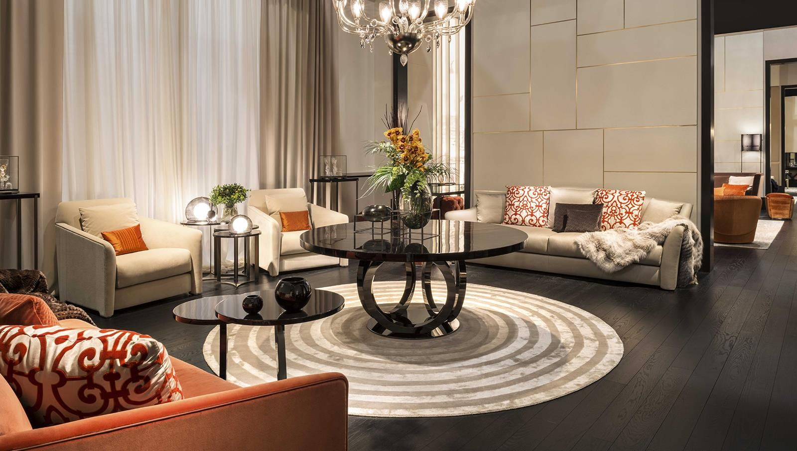 Fendi Casa Interior Collections By Luxury Living Group Fendi  # Muebles Fendi Casa