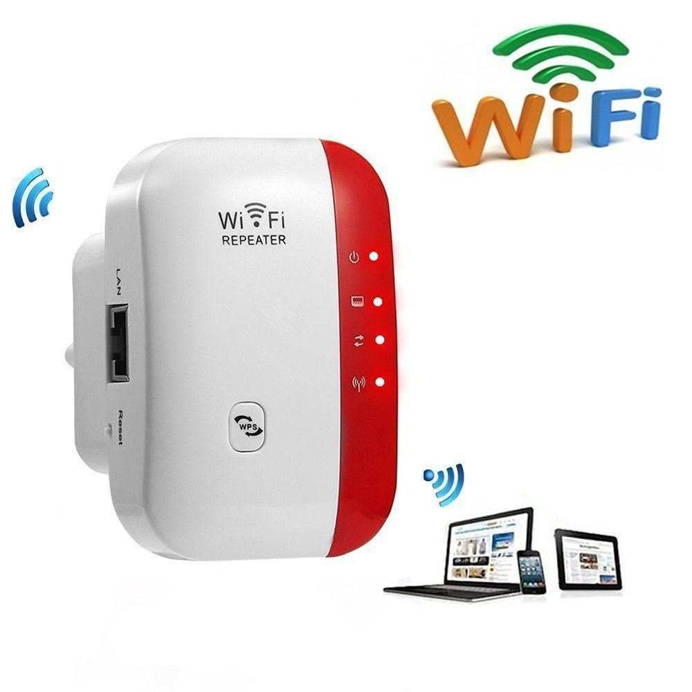 Wireless Signal Booster WiFiBlast Range 300Mbps Extender Amplifier WiFi Repeater