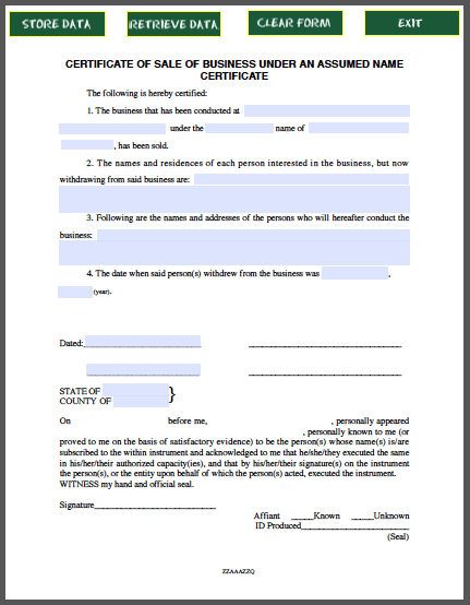 business sale certificate template forms pinterest certificate