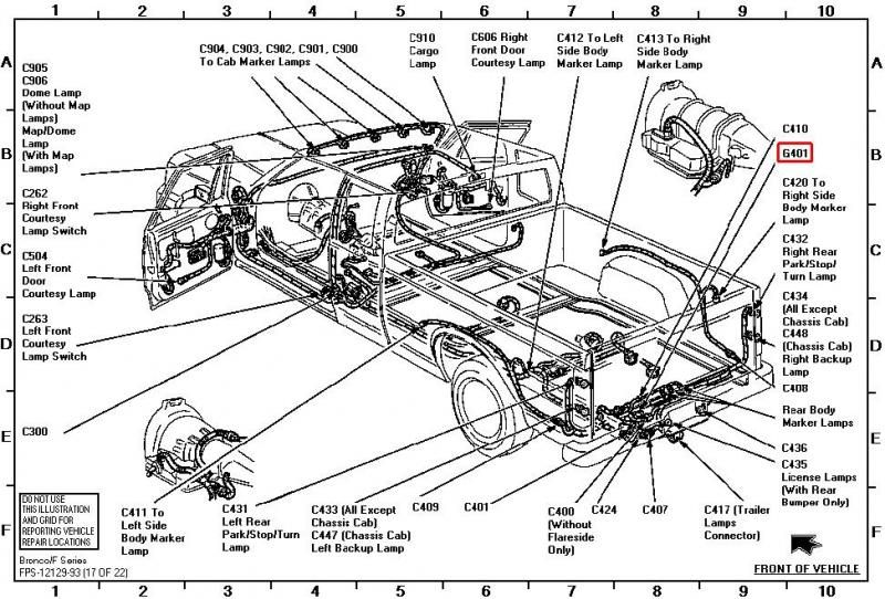 ford ranger brake light wiring diagram  ford  wiring
