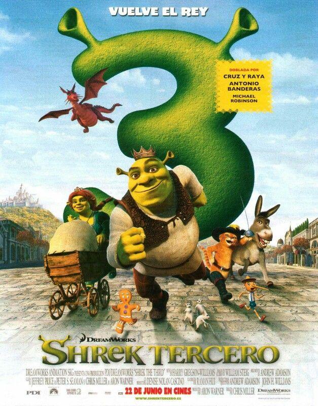 293 Shrek Tercero 28 De Marzo Shrek Kids Movies Full Movies Online Free