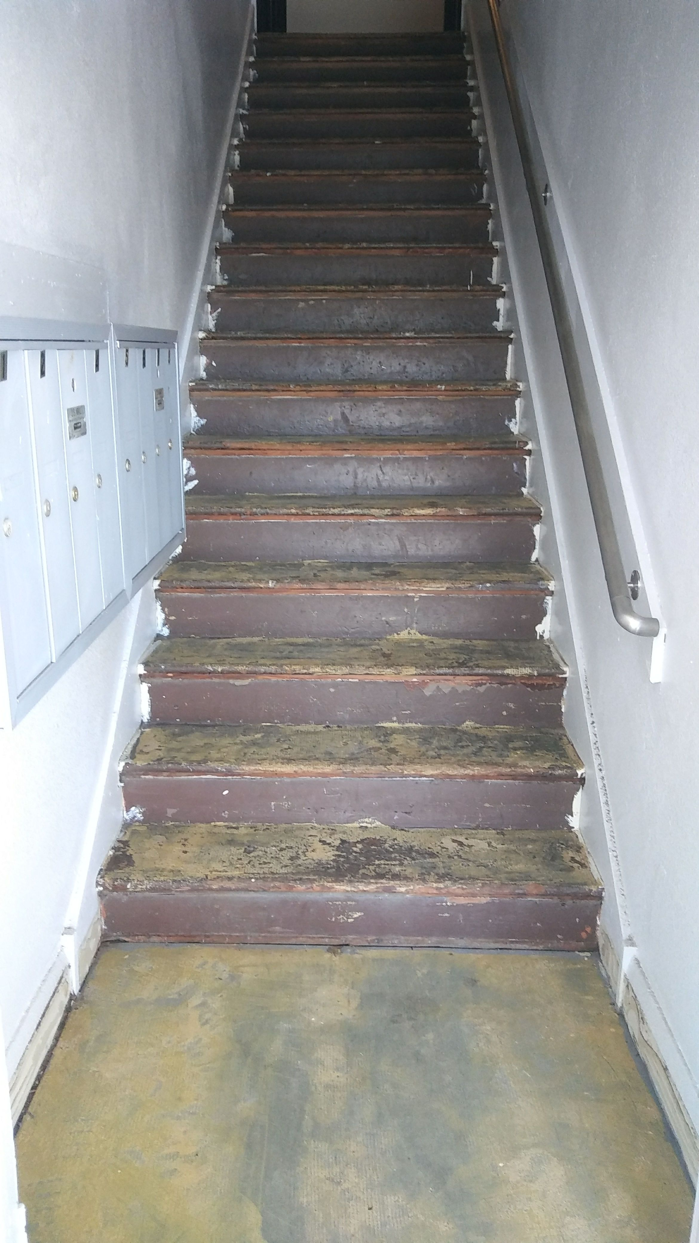 How about a Click Vinyl Plank for your stairs? Schedule