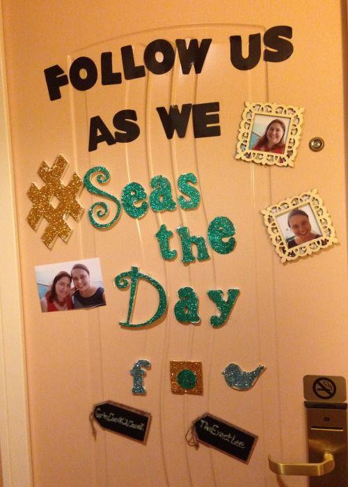 Cruise Ship Door Decorating Contest Lhs Grad 2016