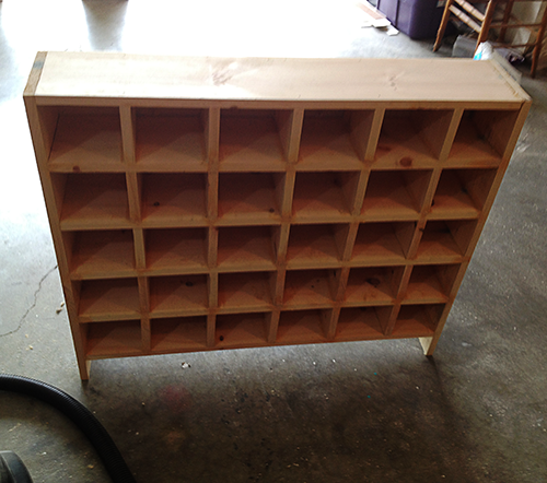 Etonnant Build Custom Craft Supply Storage Cubbies U2013 Saved By Love Creations