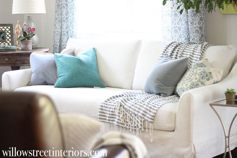 IKEA Slipcovered Farlov Sofa Review | Willow Street Interiors